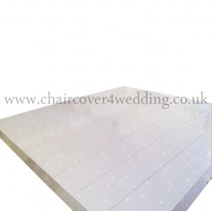 White LED Starlight Dance Floor 20ft x 20ft