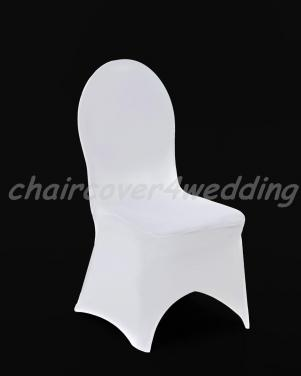 Lycra Spandex Covers White Arch Front Premium