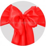 Red Satin Sashes