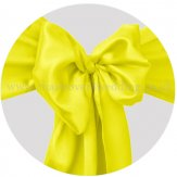 Maize Light Yellow (Yellow) Satin Sashes