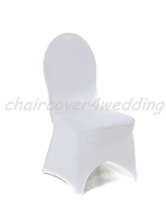 Lycra Spandex Covers White Arch Front -190gsm