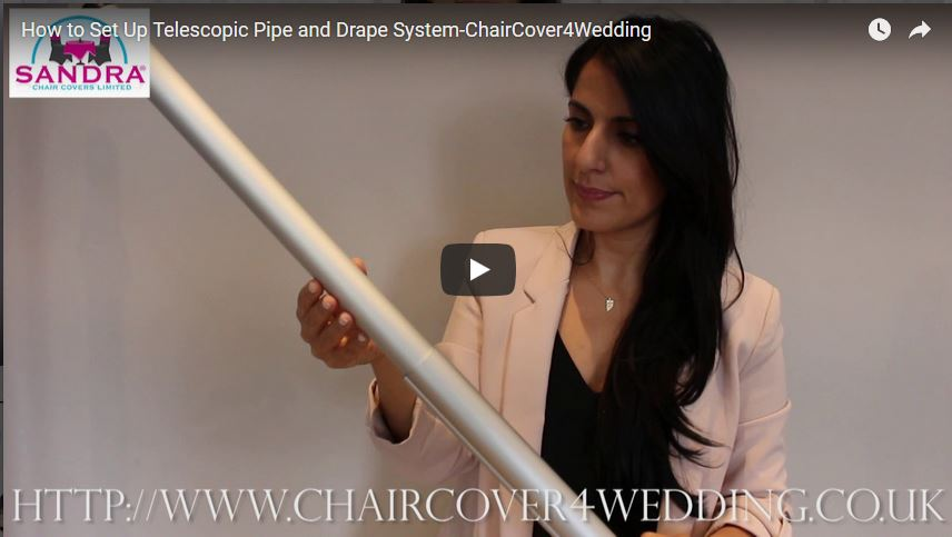 How to Set Up Telescopic Pipe and Drape System