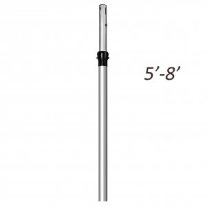 5ft -8ft Telescopic Extendable Upright
