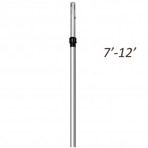 7ft - 12ft Telescopic Extendable Upright