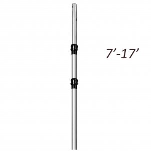 7ft - 17ft Telescopic Extendable Upright