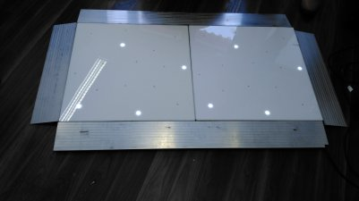 White LED Starlight Dance Floor Sample Pack