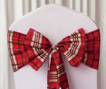 Red Stewart Tartan Sashes Design 1