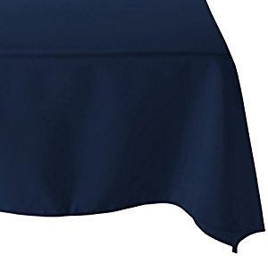 "54"" x 54"" Sqaure Table Cloths Navy"