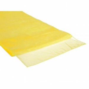 Organza Table Runner Maize Yellow