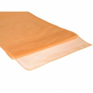Organza Table Runner Peach
