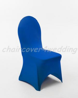 Lycra Spandex Covers Royal Blue Arch Front Premium
