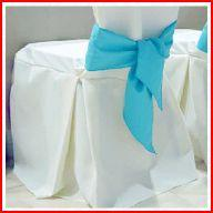 Standard Polyester Banquet Chair Covers with Pleats