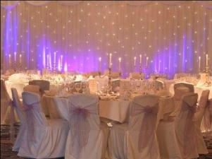 Starlight Backdrop 2(3m x 3m)+22ft +10ft skirt