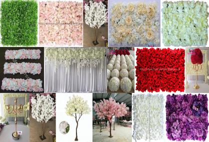 FLOWER PANELS & BLOSSOM TREES