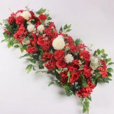 100cm Red Artificial Top Table Flower Arrangement