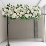 100cm Ivory Artificial Top Table Flower Arrangement D2
