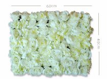 Wedding Flower Wall Backdrop Panels for Sale 60cmx40cm