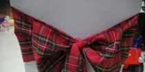 Red Stewart Tartan Sashes Design 2