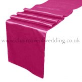 Fuchsia Satin Runner