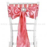 Rose Satin Sashes
