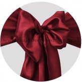 Claret/Burgundy Satin Sashes