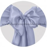 Lavender Satin Sashes