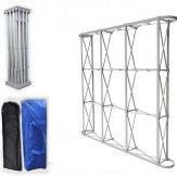 EXTRA LARGE ALUMINIUM FLOWER WALL STAND 2.3met (TALL) X 4.55met (WIDE)