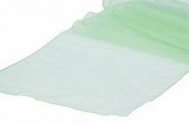 Organza Table Runner Mint Green