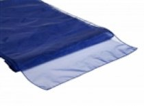 Organza Table Runner Navy