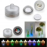 Submersible Waterproof Battery LED Tea Lights-RGB