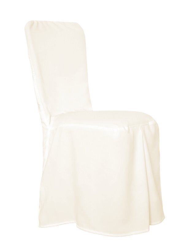 Cheltenham/Chivari Chair Covers with pleats Ivory