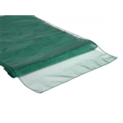 Organza Table Runner Hunter Green