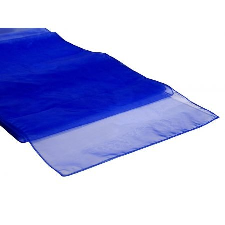 Organza Table Runner Royal Blue