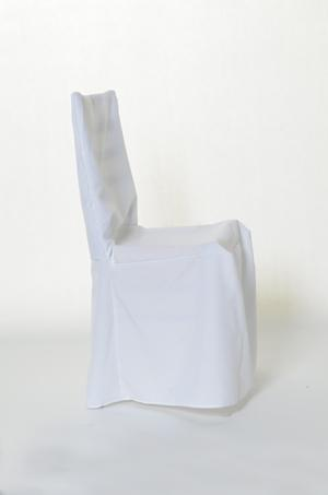 Cheltenham/Chivari Chair Covers without pleats White